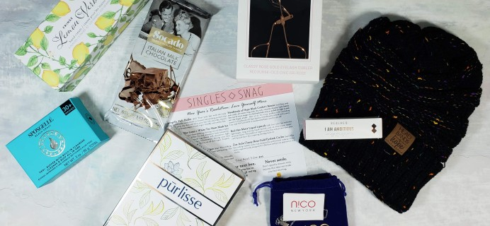 SinglesSwag Subscription Box Review & Coupon – January 2019