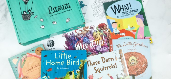 Literati Kids February 2019 Review + Coupon – CLUB SPROUT