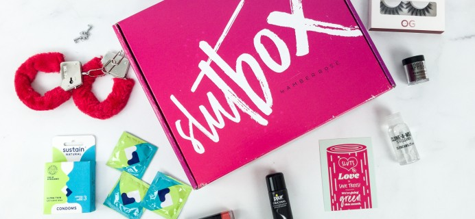 Slutbox by Amber Rose February 2019 Subscription Box Review & Coupon {NSFW}