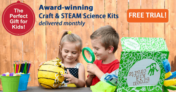Green Kid Crafts Coupon: Try First Month FREE!