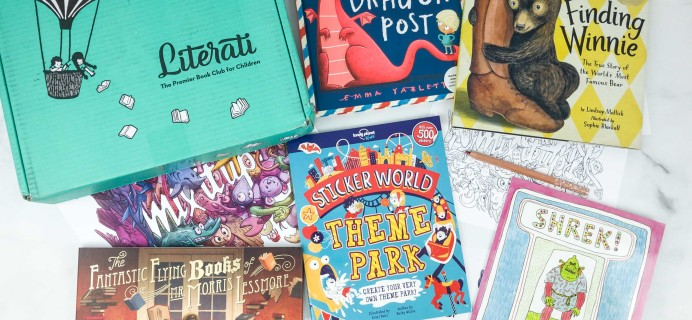 Literati Kids Club Nova Box Review + Coupon – February 2019