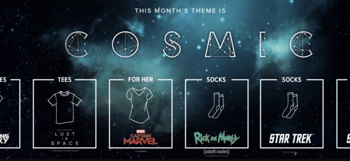 March 2019 Loot Socks Full Spoilers & Coupons!