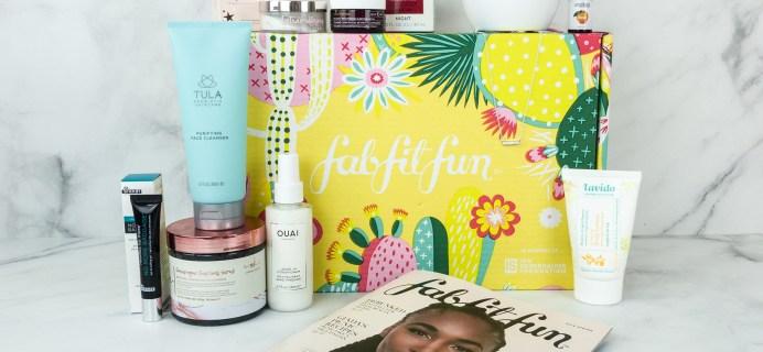 FabFitFun Spring 2019 Box Review + Coupon