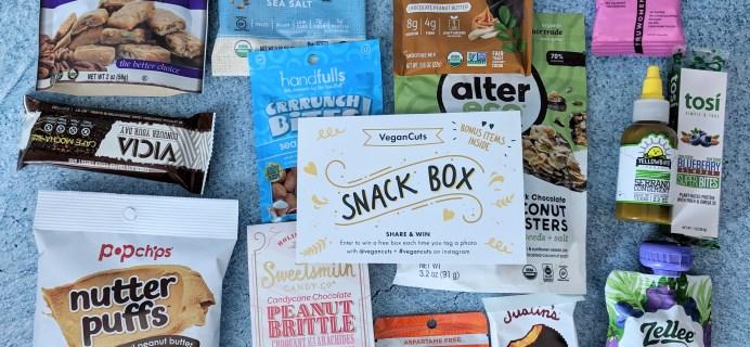 Vegan Cuts Snack Box February 2019 Subscription Box Review