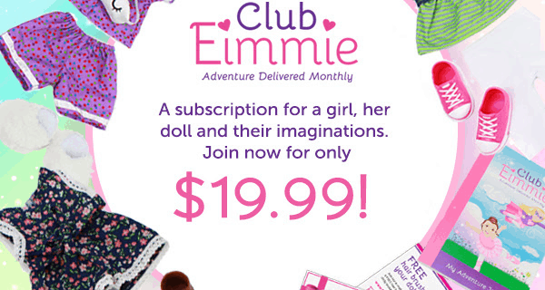 Club Eimmie Subscription Box: Subscribe for only $19.99!