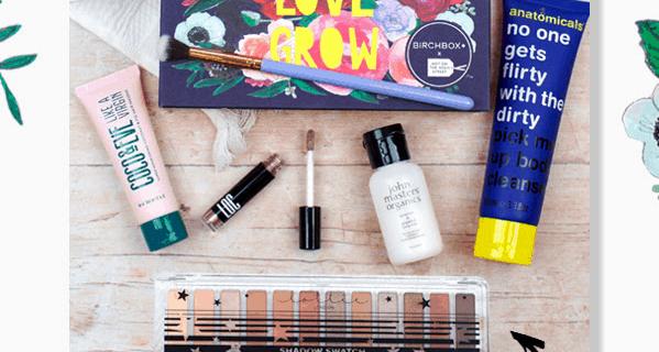 Birchbox UK February Sale : Get FREE Lottie London Eyeshadow Palette + FREE Shipping!