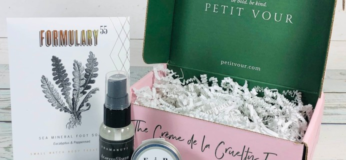 Petit Vour February 2019 Subscription Box Review & Coupon