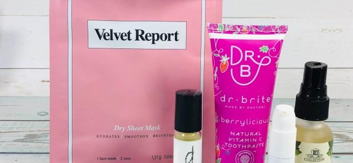 Vegan Cuts Beauty Box February 2019 Subscription Box Review