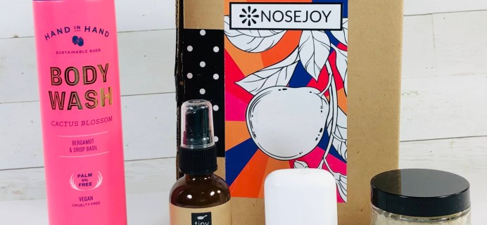 NOSEJOY February 2019 Subscription Box Review + Coupon!