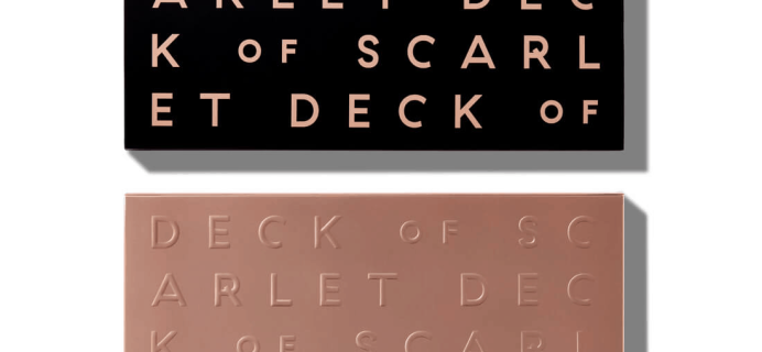 Deck of Scarlet September 2019 Palette Available Now – Full Spoilers + Coupon!