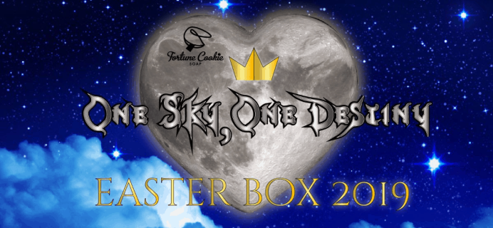 Fortune Cookie Soap 2019 Easter Box Full Spoilers!