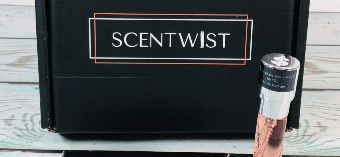 Scentwist March 2019 Subscription Box Review + Coupon