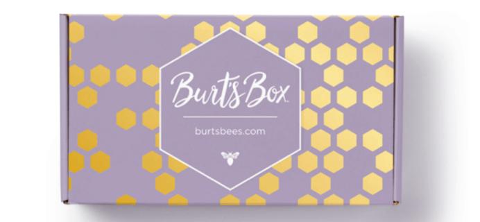 Burt's Bees 2019 Burt's Box Unwind Refresh Repeat Available Now + Full Spoilers!
