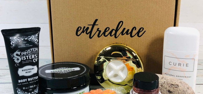 Entreduce March 2019 Subscription Box Review + Coupon!