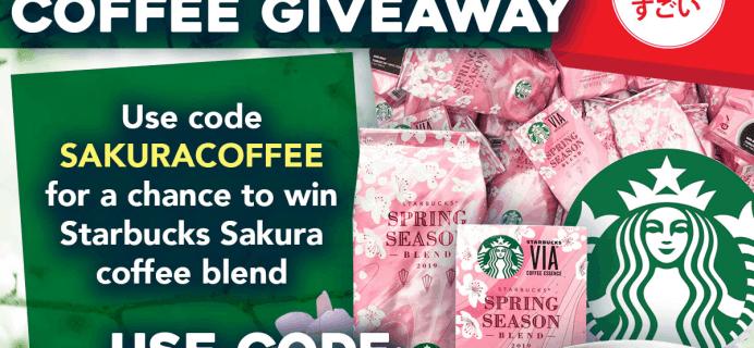 Japan Crate Coupon: Get FREE Starbucks Sakura Coffee!