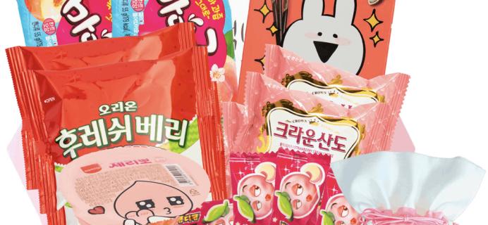 Korean Snack Box April 2019 FULL Spoilers + Coupon!