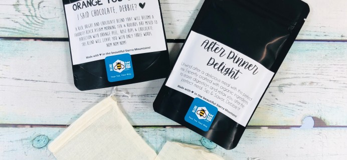 BlendBee Monthly Tea Club March 2019 Subscription Box Review + Coupon!