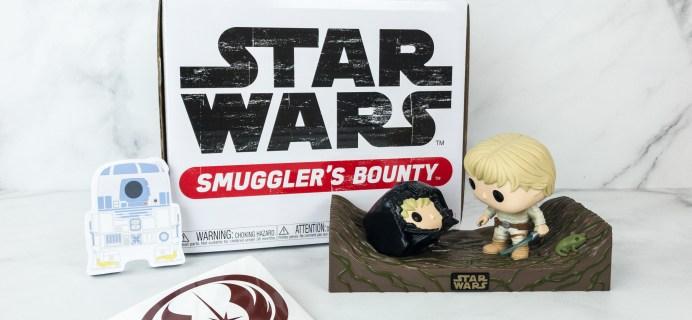 Smuggler's Bounty February 2019 Subscription Box Review – DAGOBAH Box!