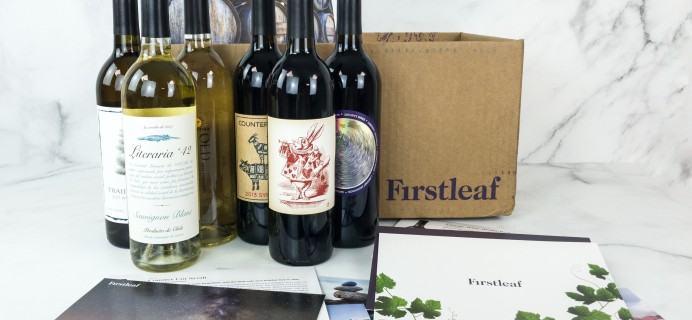 Firstleaf Wine Club Coupon: Get 6 Bottle Bundle For Just $39.95 + FREE Shipping!