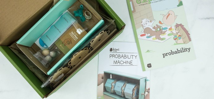 Kiwi Crate December 2018 Review & 40% Off Coupon – PROBABILITY MACHINE