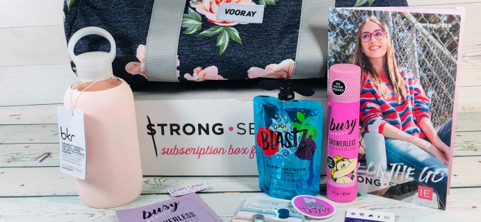 STRONG selfie Subscription Box Review – Spring 2019 BURST Box