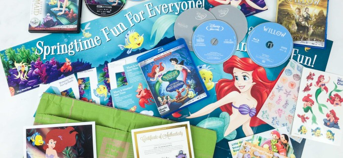 Disney Movie Club March 2019 Review + Coupon!