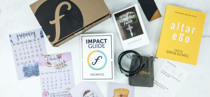 FaithBox February 2019 Subscription Box Review