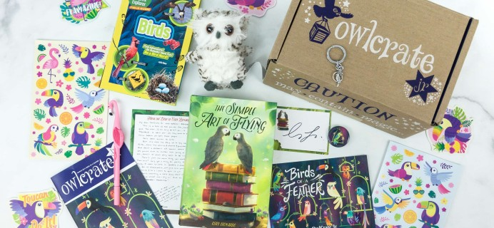 OwlCrate Jr. March 2019 Box Review & Coupon