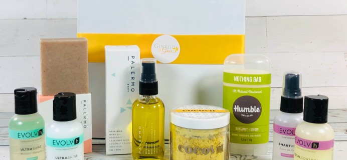 Ginkgo & Grace March 2019 Subscription Box Review