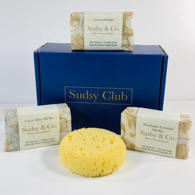 Sudsy Club April 2019 Subscription Box Review + Coupon