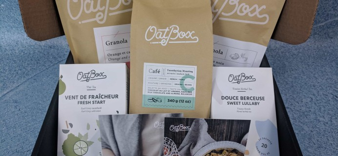 OatBox March 2019 Subscription Box Review