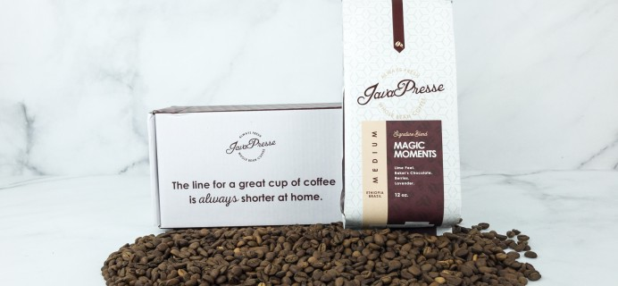 Java Presse Coffee Of The Month Club March 2019 Review + Coupon