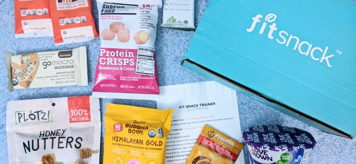 FitSnack February 2019 Subscription Box Review & Coupon