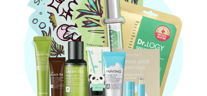New Tony Moly Monthly Bundle Available Now!