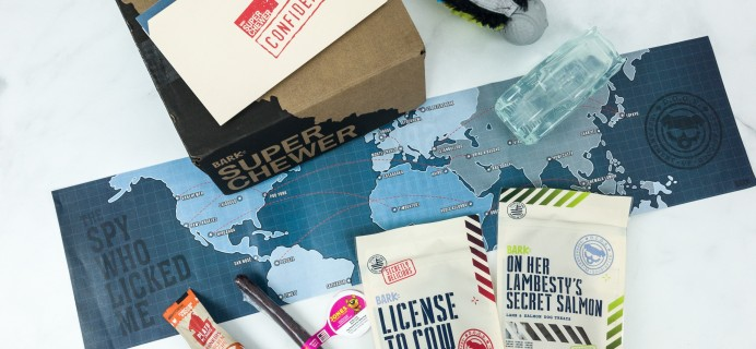 Super Chewer March 2019 Subscription Box Review + Coupon