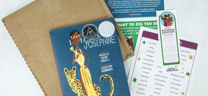 Little Feminist Book Club March 2019 Subscription Box Review + Coupon – 3-7 YEARS OLD