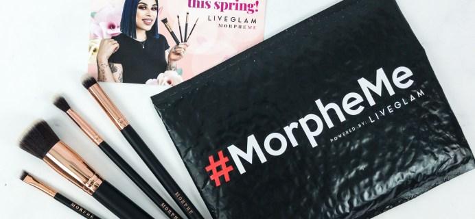 MorpheMe Brush Club April 2019 Subscription Box Review + Free Brush Coupon!