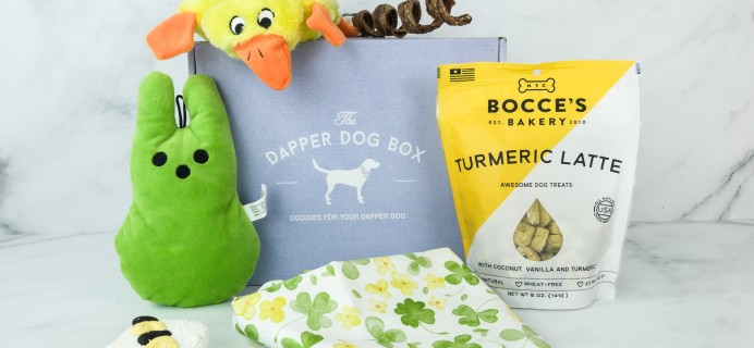 The Dapper Dog Box March 2019 Subscription Box Review + Coupon