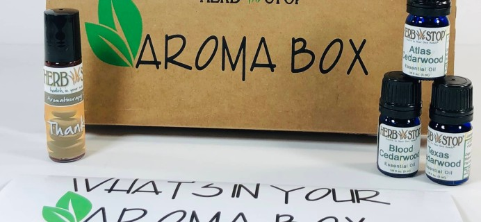Herb Stop AromaBox Subscription Review & Coupon – March 2019