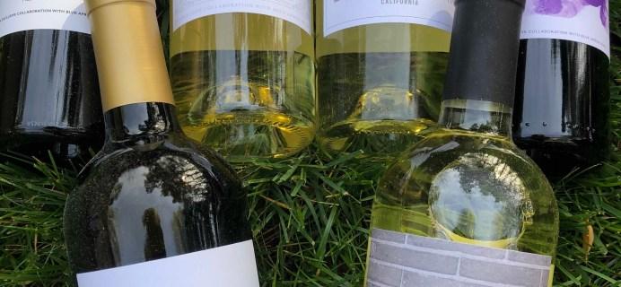Blue Apron Wine April 2019 Subscription Box Review
