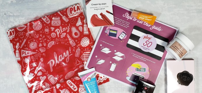PLAY! by Sephora Subscription Box Review – November 2018