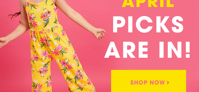 FabKids April 2019 Collection + Coupon!