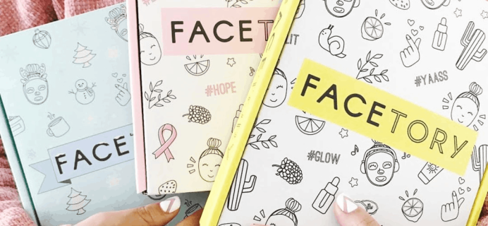 Facetory January 2020 Full Spoilers + Coupon!