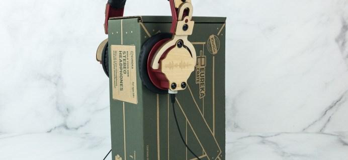 Eureka Crate Review + Coupon – STEREO HEADPHONES