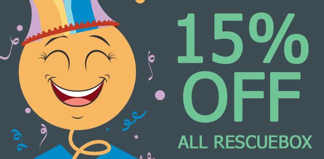 Rescue Box April Fool's Day Sale: Get 15% Off!