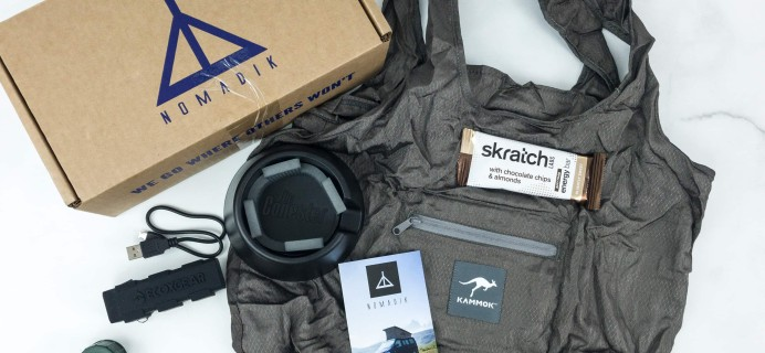 Nomadik March 2019 Subscription Box Review + Coupon