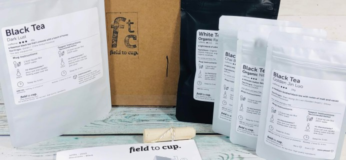 Field To Cup April 2019 Subscription Box Review + Coupon
