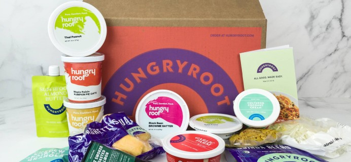 Hungryroot Cyber Monday Deal: $80 Off First Four Boxes OR 30% Off  First Box + FREE Bonus Food FOR LIFE!