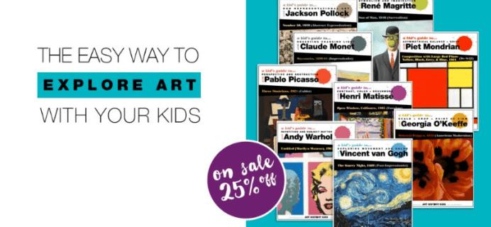 Art History Kids Birthday Sale: Get 25% Off + Memberships Open Again!