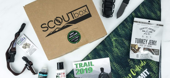 SCOUTbox March 2019 Subscription Box Review + Coupon